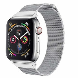 Apple Watch Armband Milanesisk 38/40mm Silver