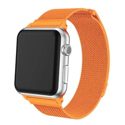 Apple Watch Armband Milanesisk 38/40mm Orange