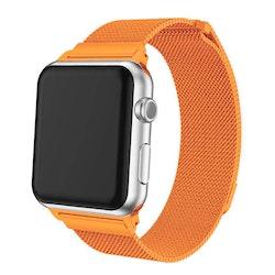 Apple Watch Armband Milanesisk 38/40mm Orange