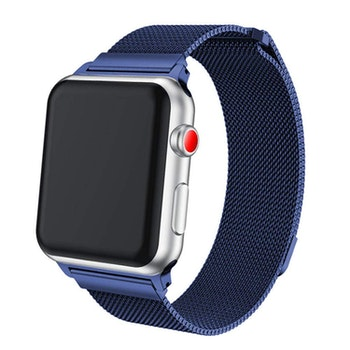 Apple Watch Armband Milanesisk 42/44mm Blå