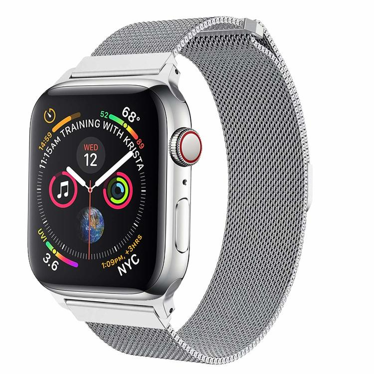 Apple Watch Armband Milanesisk 42/44mm Silver