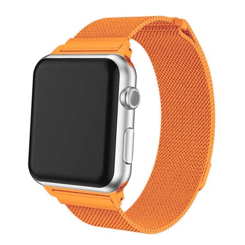 Apple Watch Armband Milanesisk 42/44mm Orange