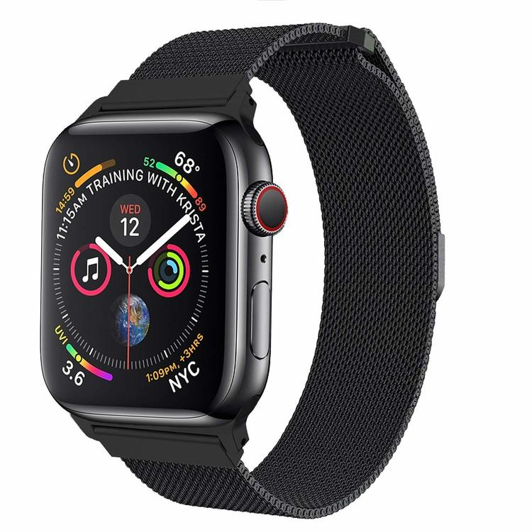Apple Watch Armband Milanesisk 42/44mm Svart
