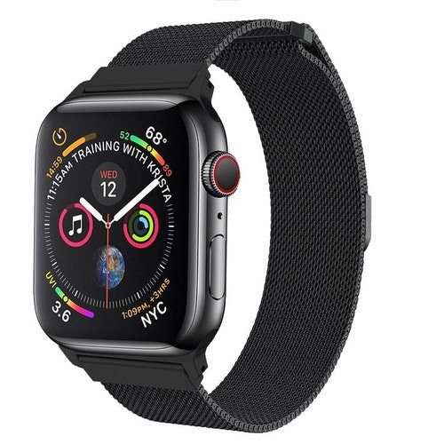 Apple Watch Armband Milanesisk 42/44mm Svart