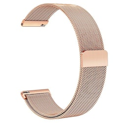 Milanesisk loop-armband till Galaxy Watch Active - Rosa