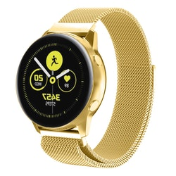 Milanesisk loop-armband till Galaxy Watch Active - Guld