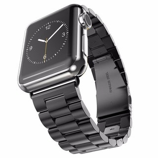 Apple Watch Borstat Metallarmband 42/44mm Svart