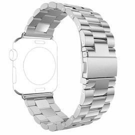 Apple Watch Borstat Metallarmband 42/44mm Silver