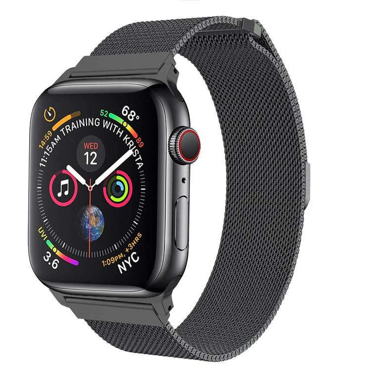 Apple Watch Armband Milanesisk 42/44mm Mörkgrå