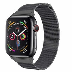 Apple Watch Armband Milanesisk 42/44mm Mörkgrå