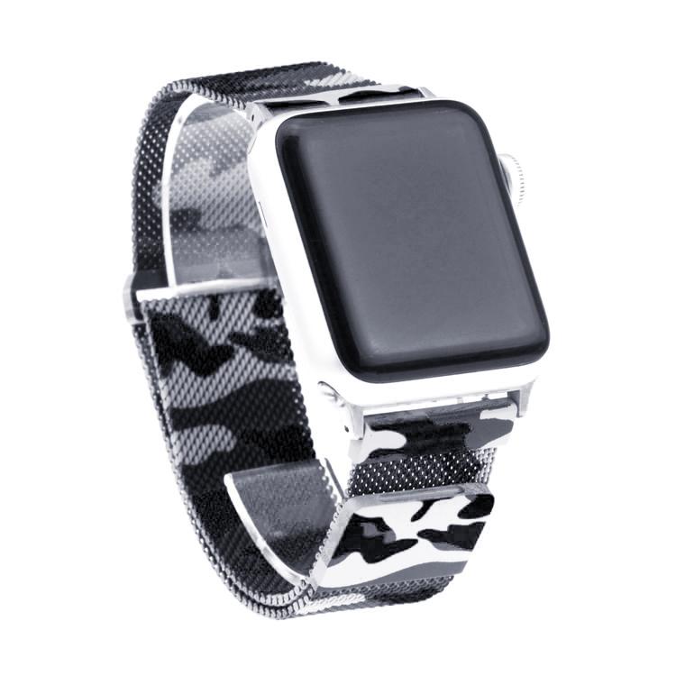 Apple Watch Armband Milanesisk 42/44mm Mörk KAMOUFLAGE