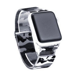 Apple Watch Armband Milanesisk 42/44mm Mörk KAMOUFLAGE