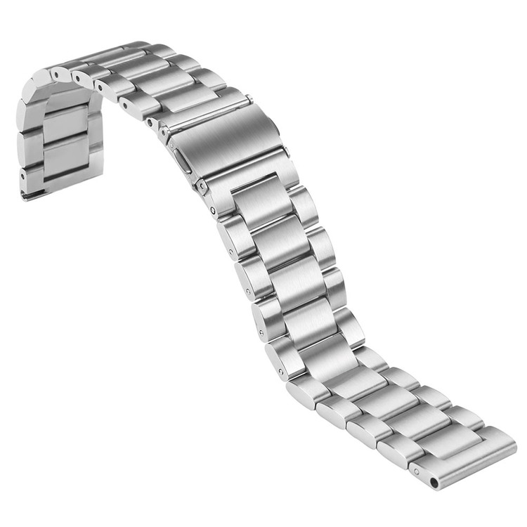 Samsung Galaxy 46mm Watch Borstat Metallarmband SILVER