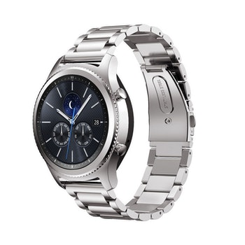 Samsung Galaxy 46mm Watch Borstat Metallarmband SILVER