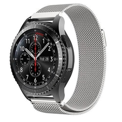 Samsung Galaxy Watch Armband Milanesisk 46mm SILVER