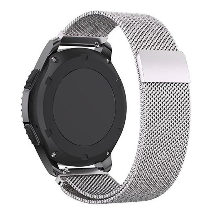 Samsung Galaxy Watch Armband Milanesisk 46mm SILVER