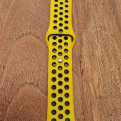 Silikonband för Apple Watch Gul/Blå 42/44mm