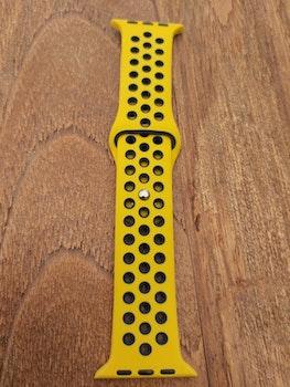 Silikonband för Apple Watch Gul/Blå 42/44mm