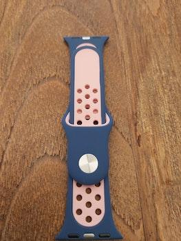 Silikonband för Apple Watch Lila/Rosa 38/40 mm