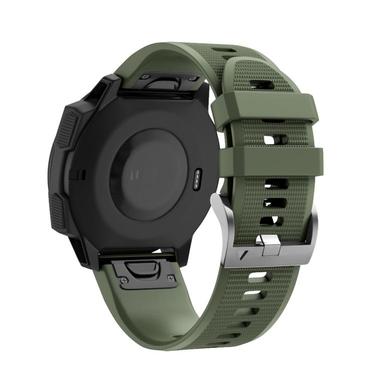 Garmin Forerunner 935 / Fenix 5 / 5 Plus Militärgrön