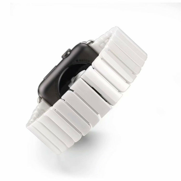 CERAMIC ARMBAND FÖR APPLE WATCH 38/40mm VIT