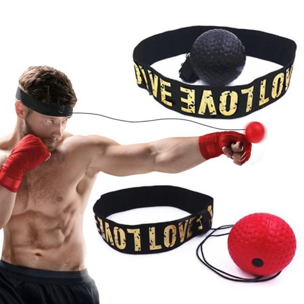 Boxboll på Huvudet - RÖD
