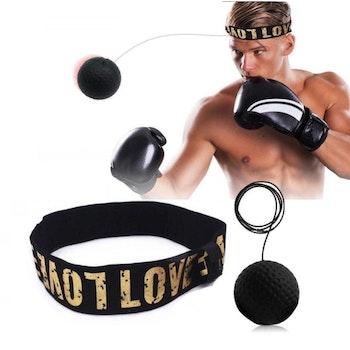 Boxboll på Huvudet - SVART