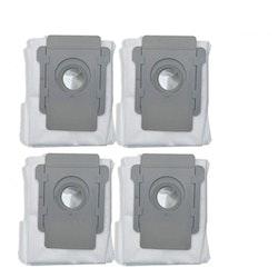 4-pack Dammsugarpåsar för iRobot Roomba i7 S9 S9+