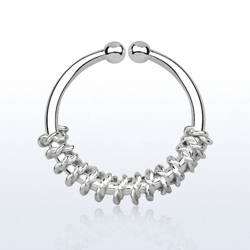 925 Silver Fake Septum - Rep