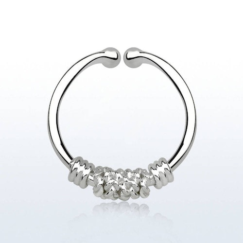 925 Silver Fake Septum - Wire