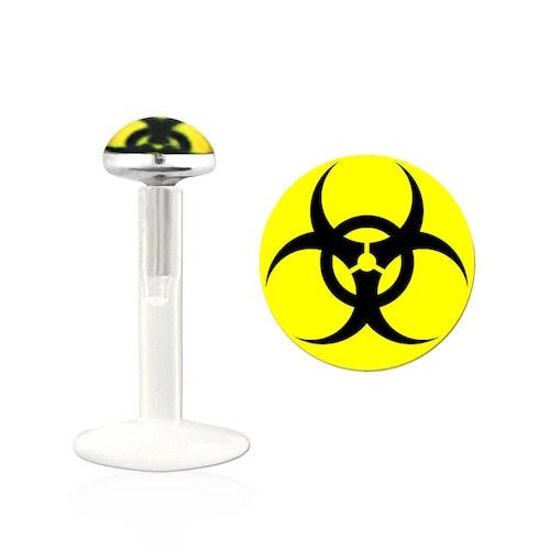 Labret / Monroe BIO-Flex med bio hazard logo