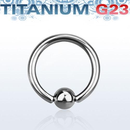 Titanium BCR 1.6mm med 4mm kula