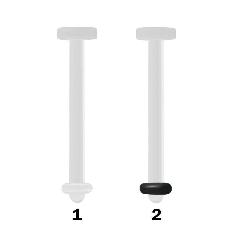 BIO-Flex retainer 1.6mm för tungpiercing