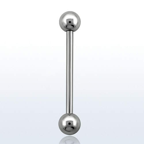 Barbell 1.6mm med 5mm kulor