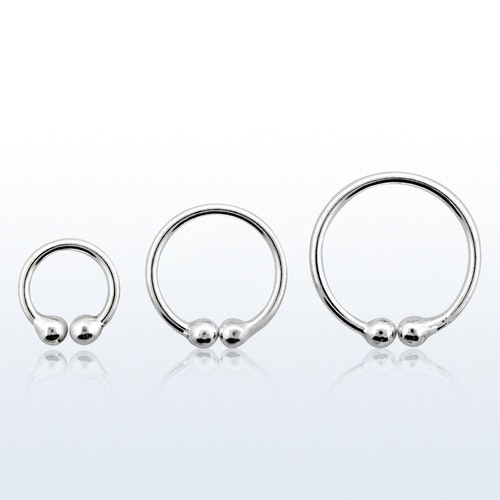 Ring i 925 Silver Fake-Clip