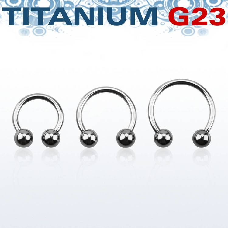 Titanium CBR 1.6mm med 5mm kulor