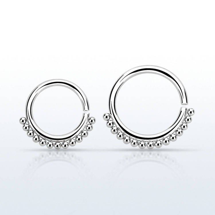 Septum Ring 1.2mm kirurgiskt stål