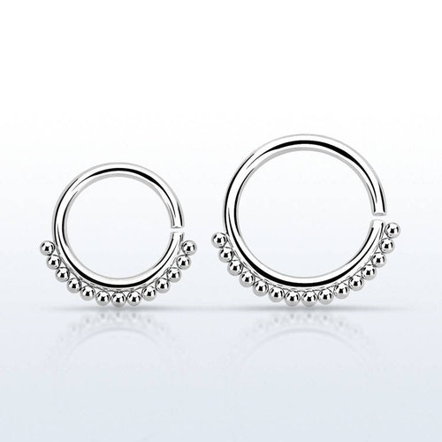 Septum Ring 1.2mm kirurgiskt stål