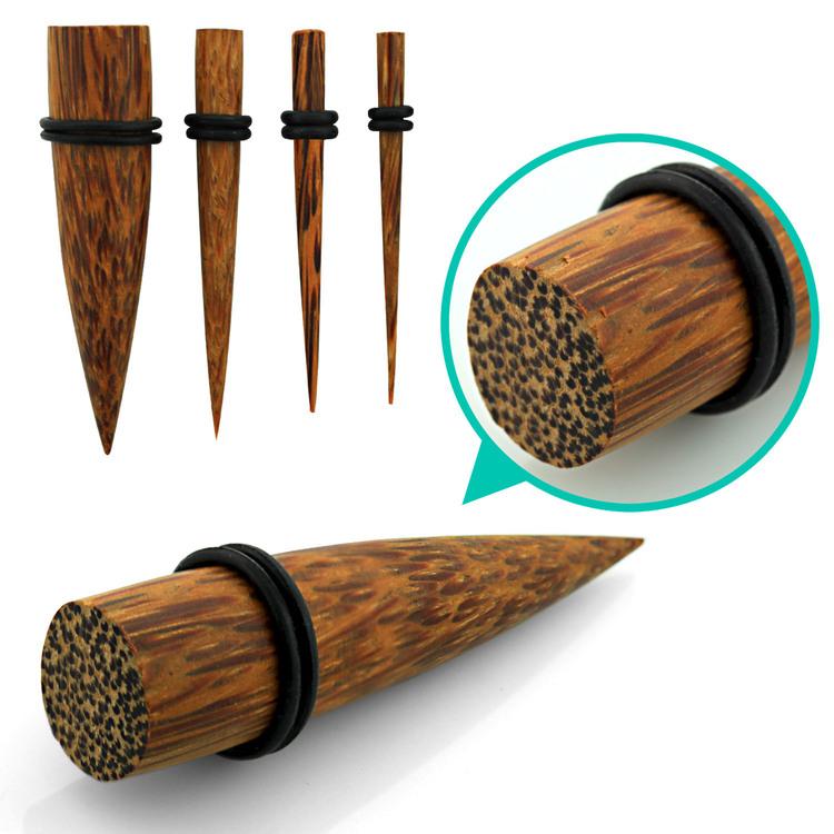 """Töjning i trä """"Coconut Wood"""" med o-ringar"""
