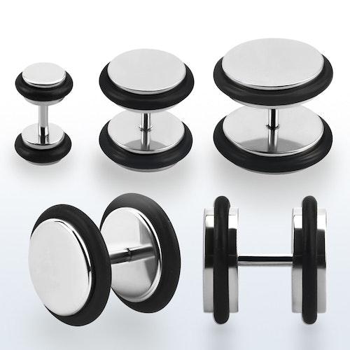 Fakeplugg i stål med o-ringar