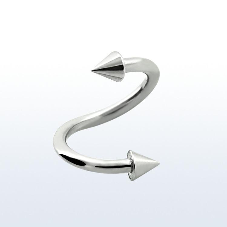 Spiral twister 1.2mm med 2.5mm kon