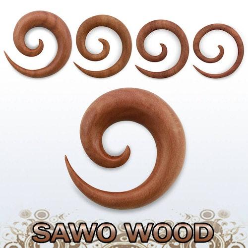 Töjspiral i trä - Sawo Wood