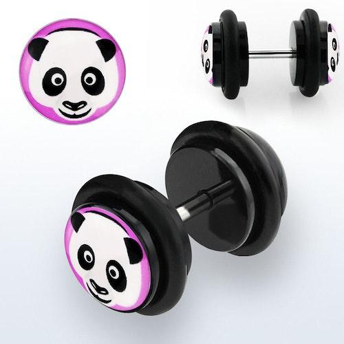 Fakeplugg med panda