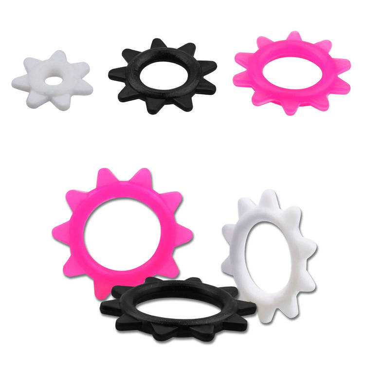 """O-ring """"kugghjul"""" i silikon"""