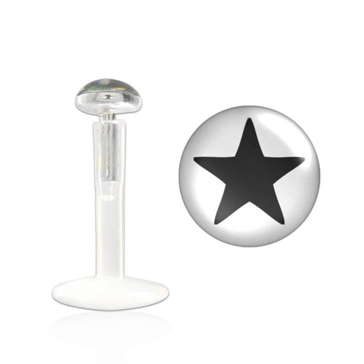 BIO-Flex Labret / Monroe 1.2mm med stjärna