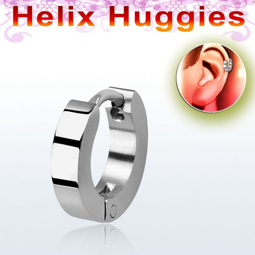 Helix huggie i stål