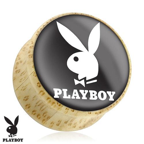 Träplugg Playboy kanin