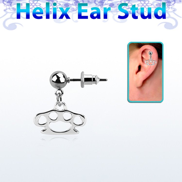 Helix örhänge - knogjärn
