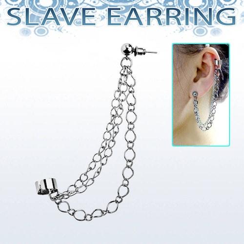 Fake helix med örhänge - kedjor