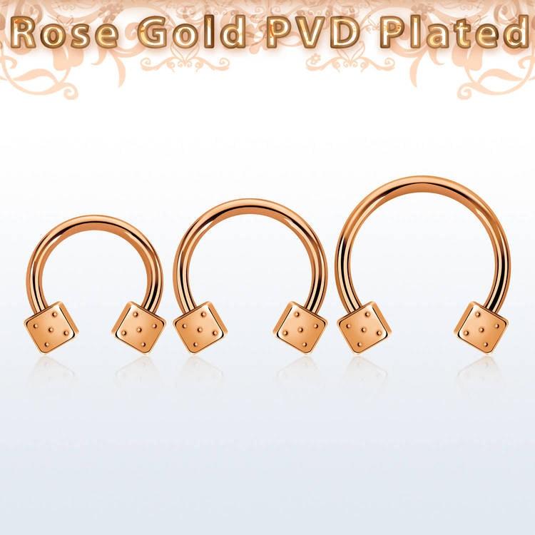 Acryl Glatt Segment Ring Piercing Stretch Pa Septum Hypoallergen Metall Gratis